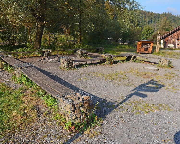 Rast- und Spielplatz Wildnispark Sihlwald