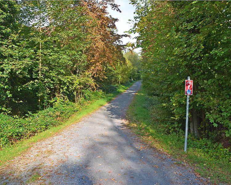 Uferweg bei Langnau a. A.