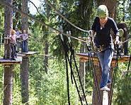 Abenteuerpark Fun Forest Crans-Montana