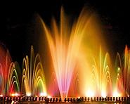 Multimediale Wasserspiele