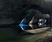 Der unterirdische See von Saint-Léonard