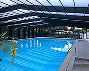 Schwimmbad Camping Les Trois Lacs Sugiez