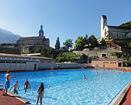 Sand Chur outdoor swimming pool