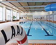 Indoor swimming baths in Laax