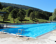 Erguël outdoor swimming pool in Saint Imier