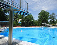 Flaach outdoor swimming pool