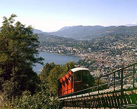 Drahtseilbahn Monte Brè