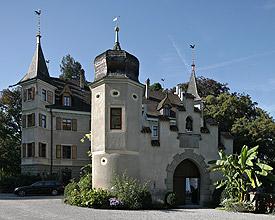 Seeburgpark und Schloss Seeburg