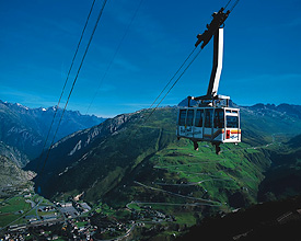Eldorado of cable cars: Gemsstock
