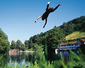 Tre laghetti (stagni termali) St. Gallen