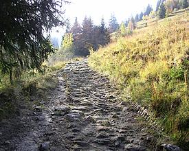 Der «HD-Weg» bei Habkern