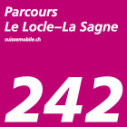 Parcours Le Locle–La Sagne