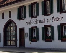 Hotel Restaurant zur Kapelle